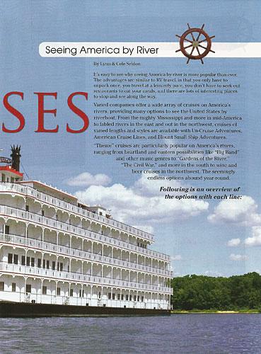 Articles By W Lynn Seldon Jr Travel Writer Photographer - United states river cruises